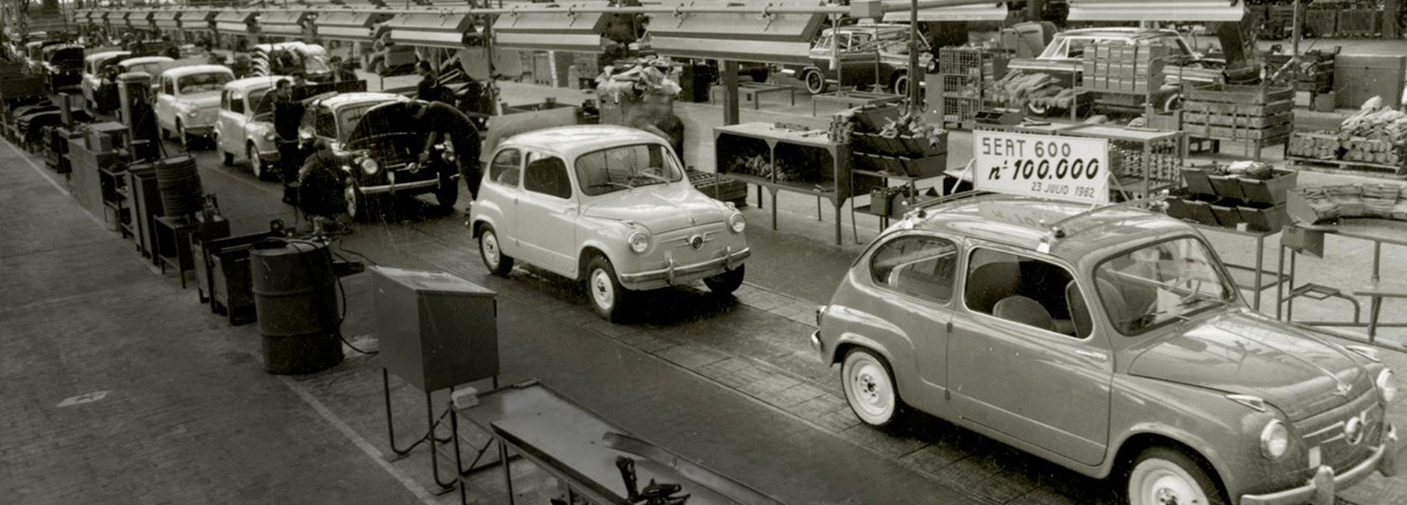 mas de 50 años fabricando seat