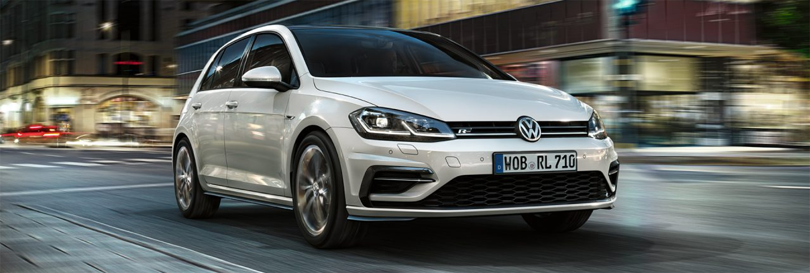 volkswagen golf blanco