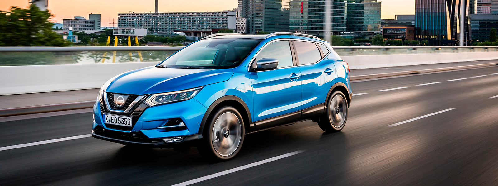 Nissan Qashqai azul