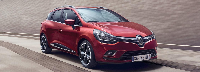 Renault Clio color rojo