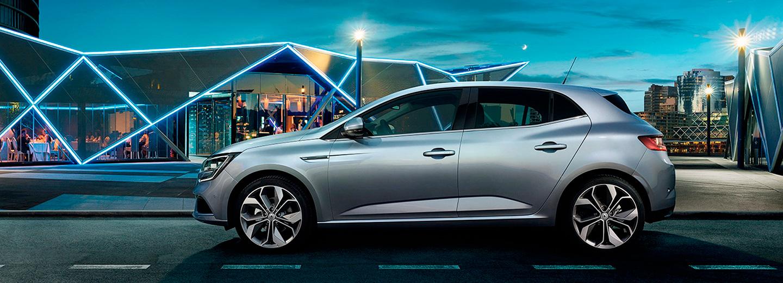 Renault megane color plata