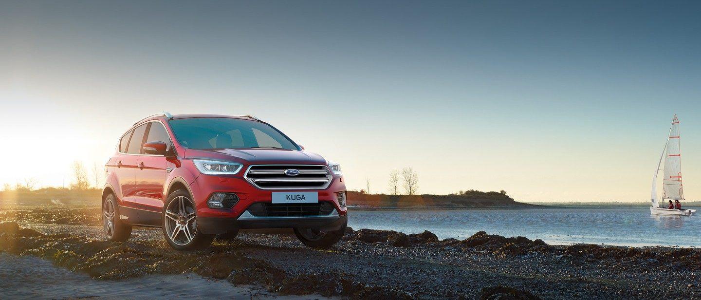 Ford kuga rojo