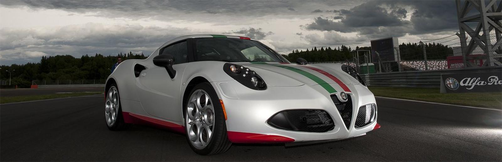 Lateral Alfa Romeo 4C