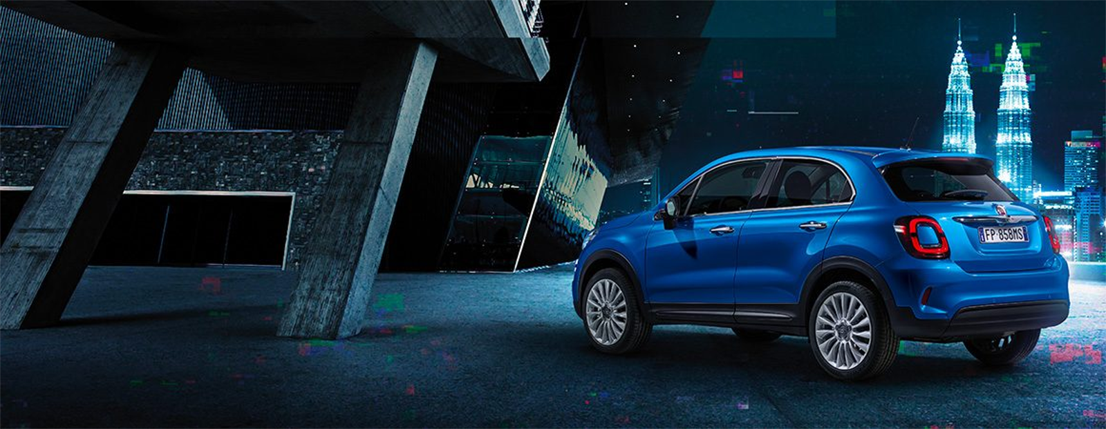 Lateral Fiat 500X