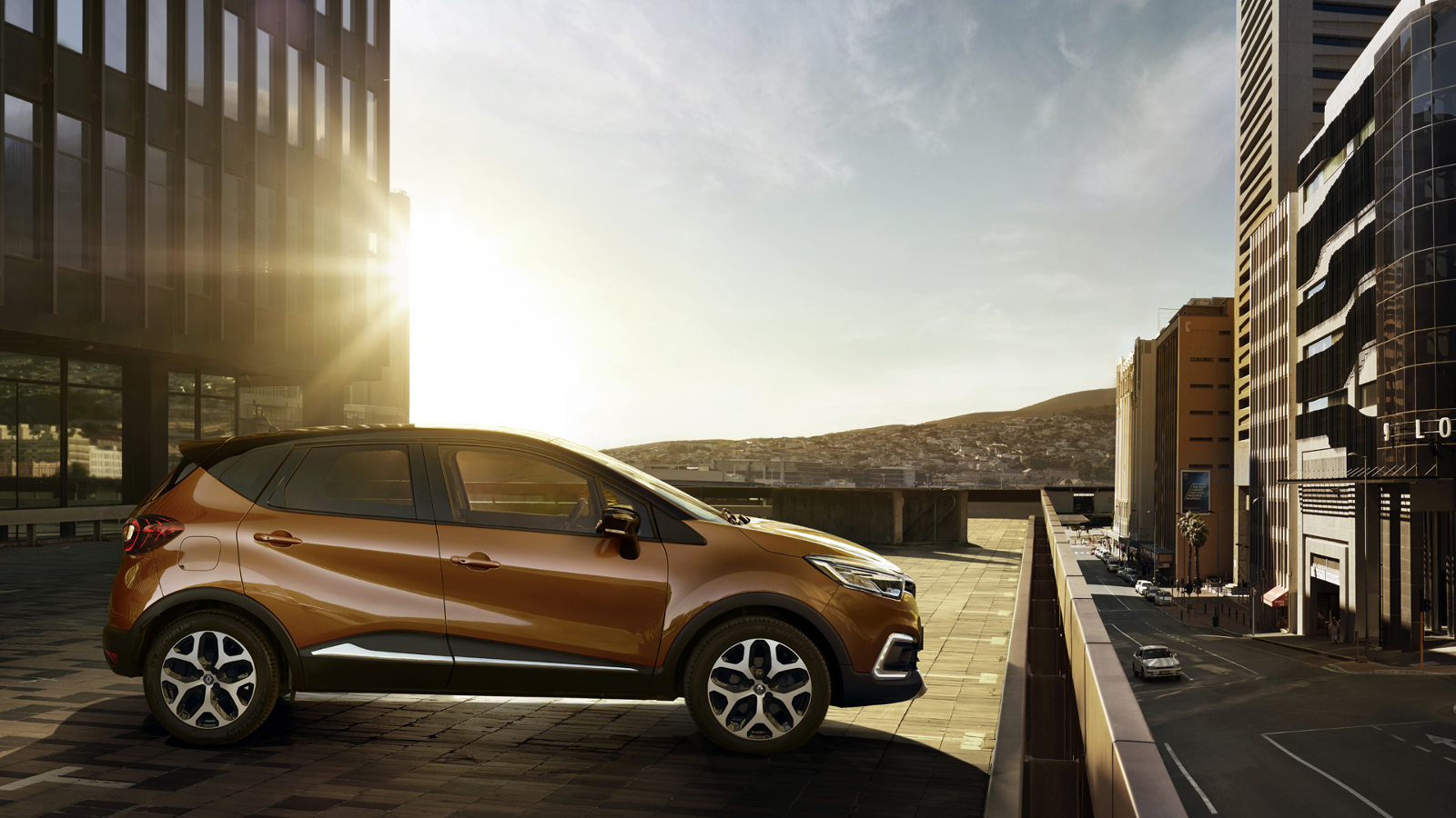 Lateral Renault Captur