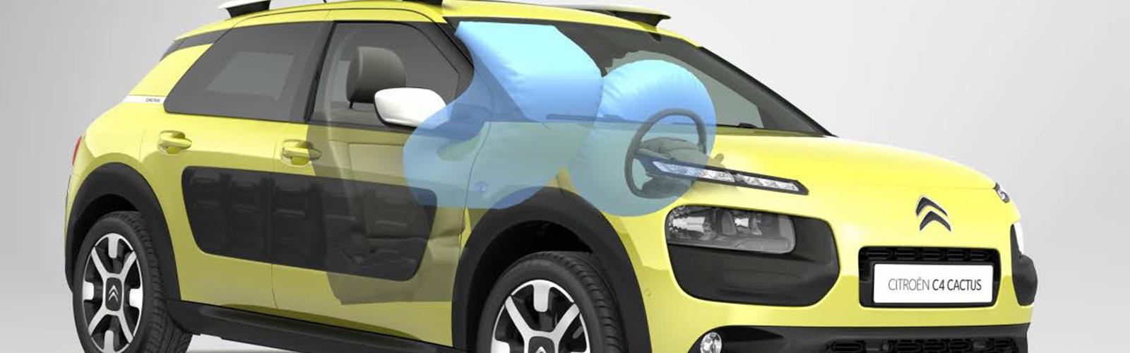 El Citroën C4 Cactus tiene una buena seguridad