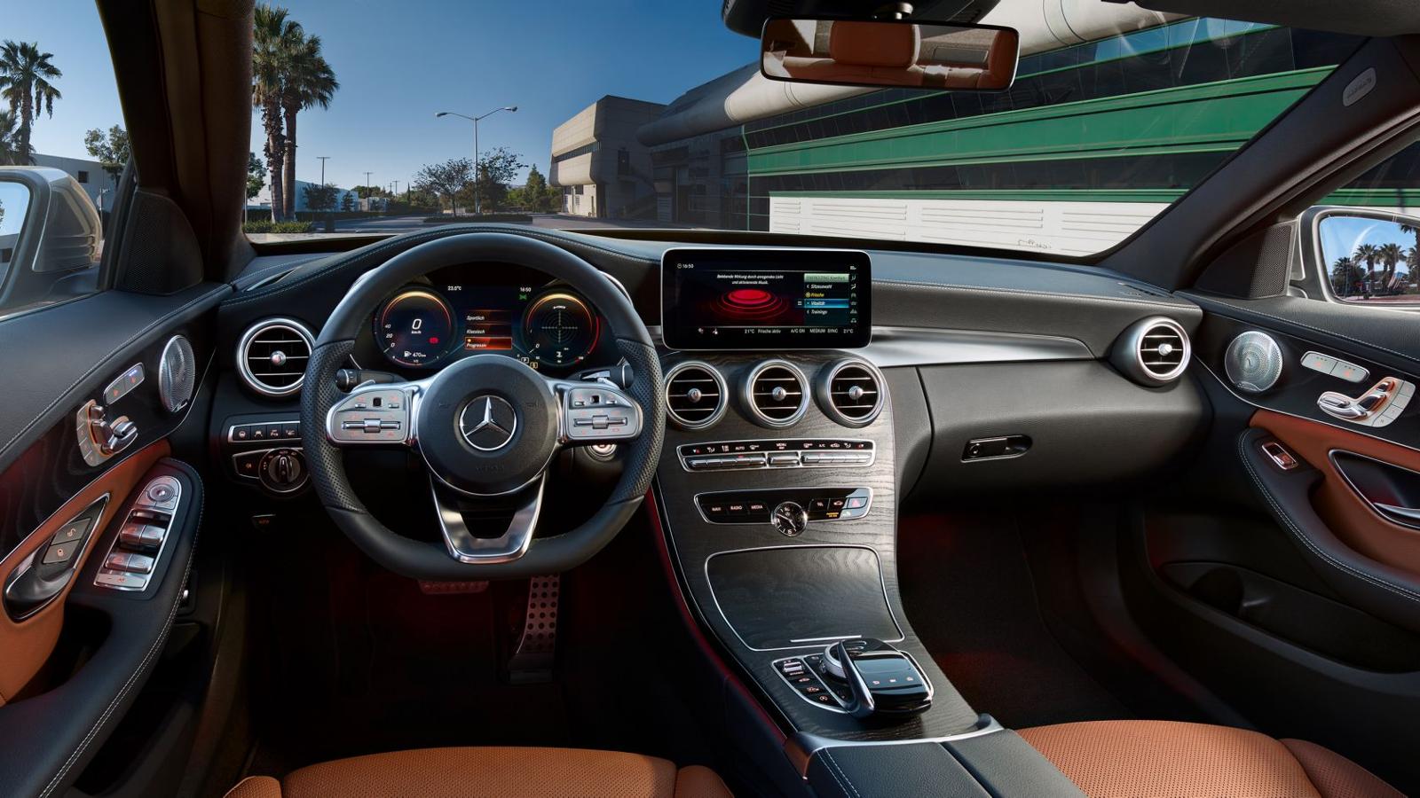 Interior Mercedes Clase C
