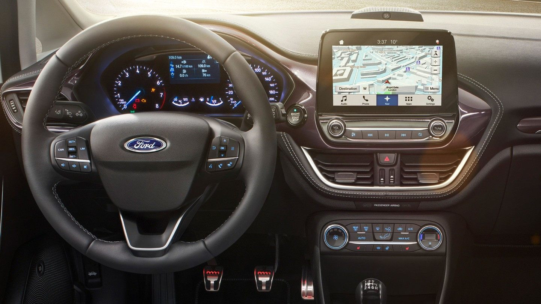 Interior Ford Fiesta