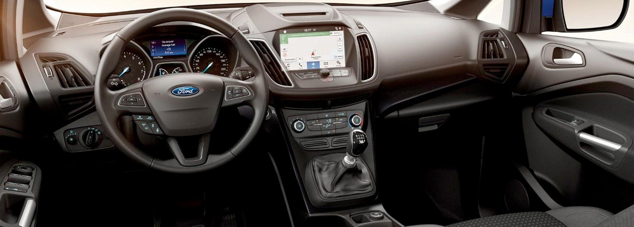 Consola Interior del ford c max
