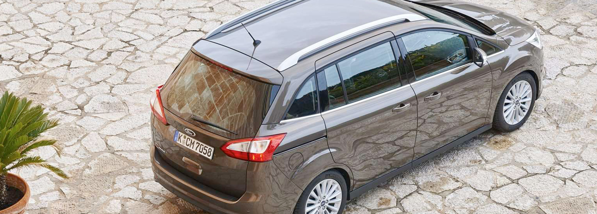 Ford Grand C-Max desde arriba