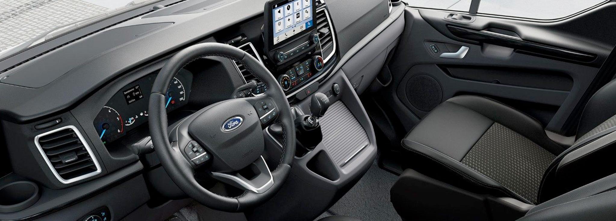 consola de Ford Tourneo Custom