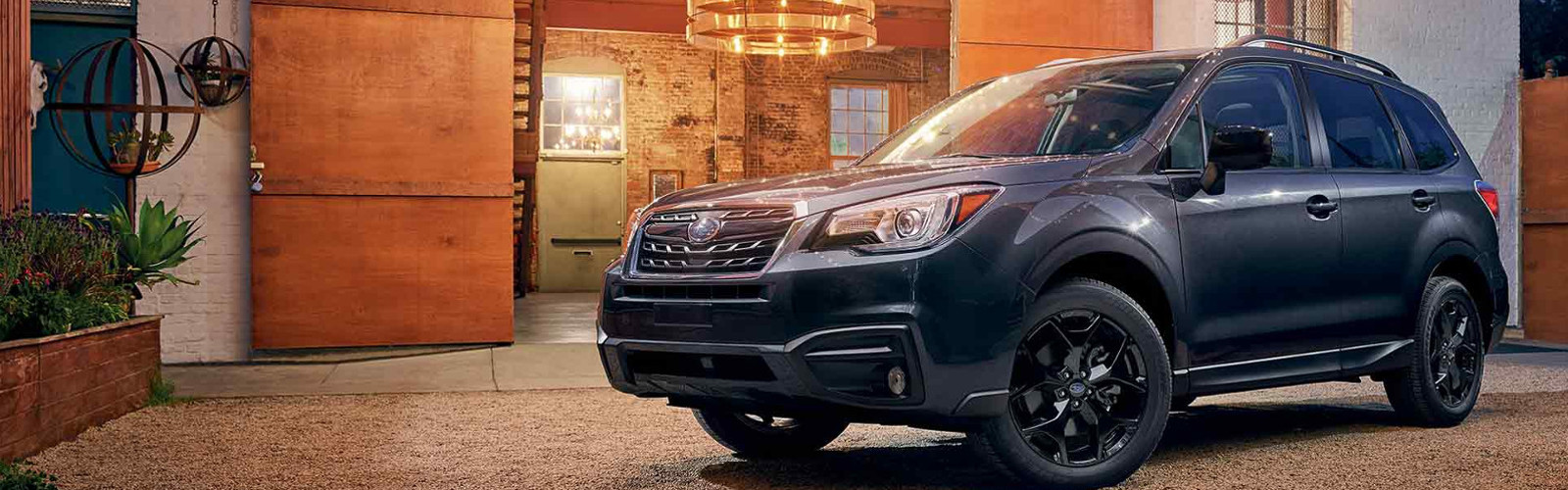 Lateral Subaru Forester