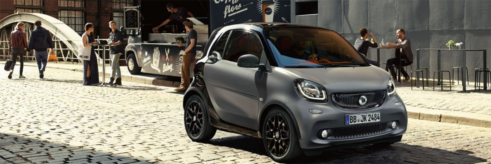 Lateral smart fortwo