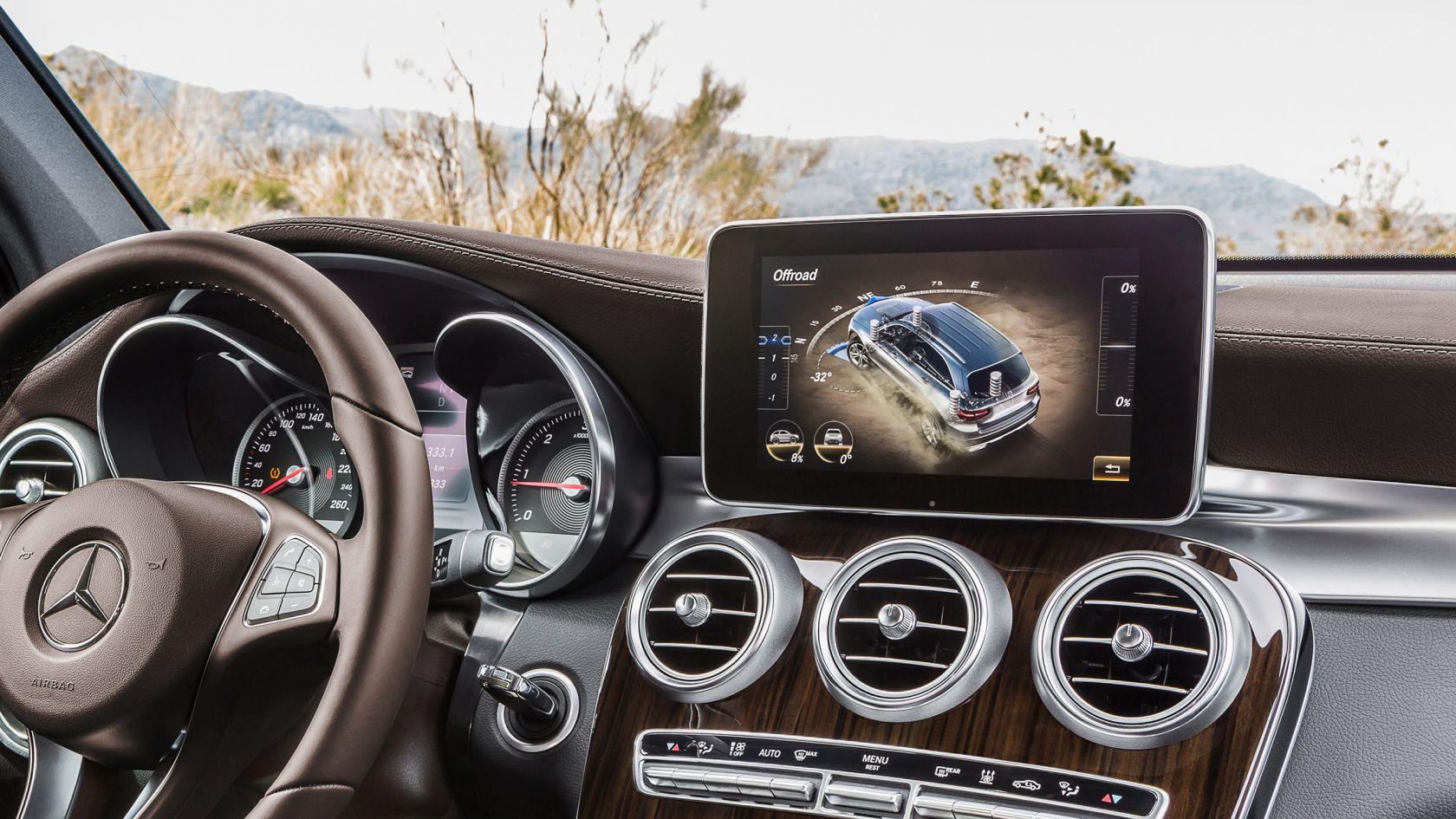 Interior Mercedes GLC