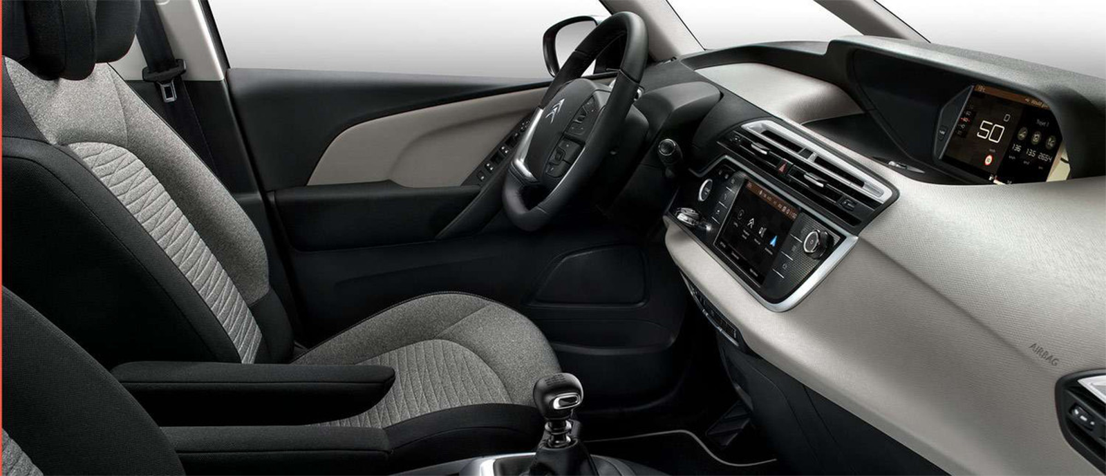 Interior Citroen Grand C4 SpaceTourer