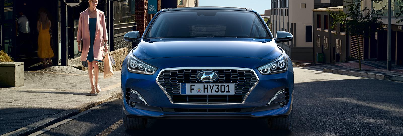 Parte delantera Hyundai i30