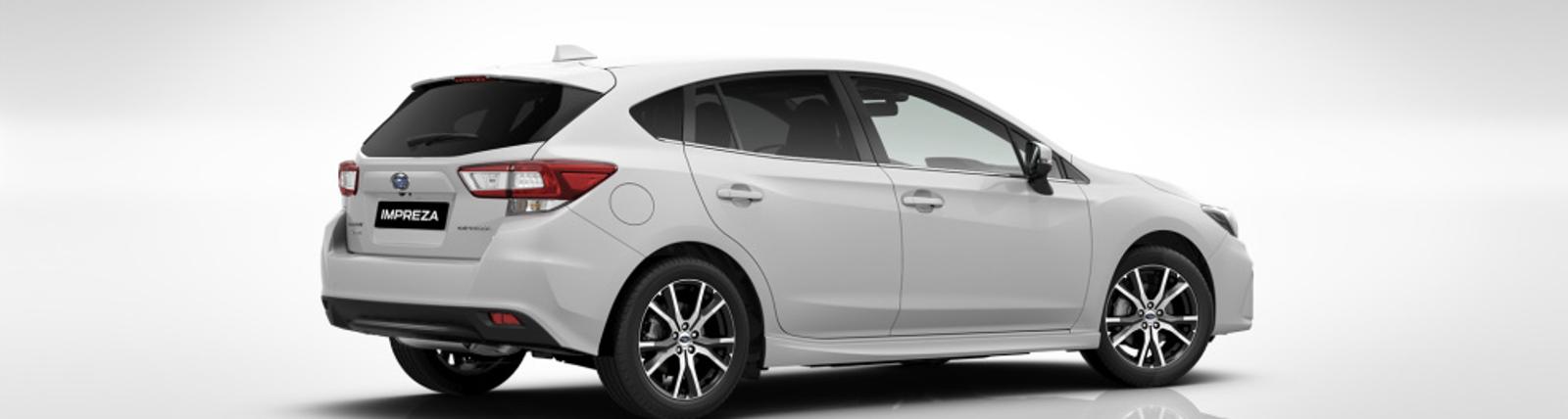 Trasera lateral Subaru impreza