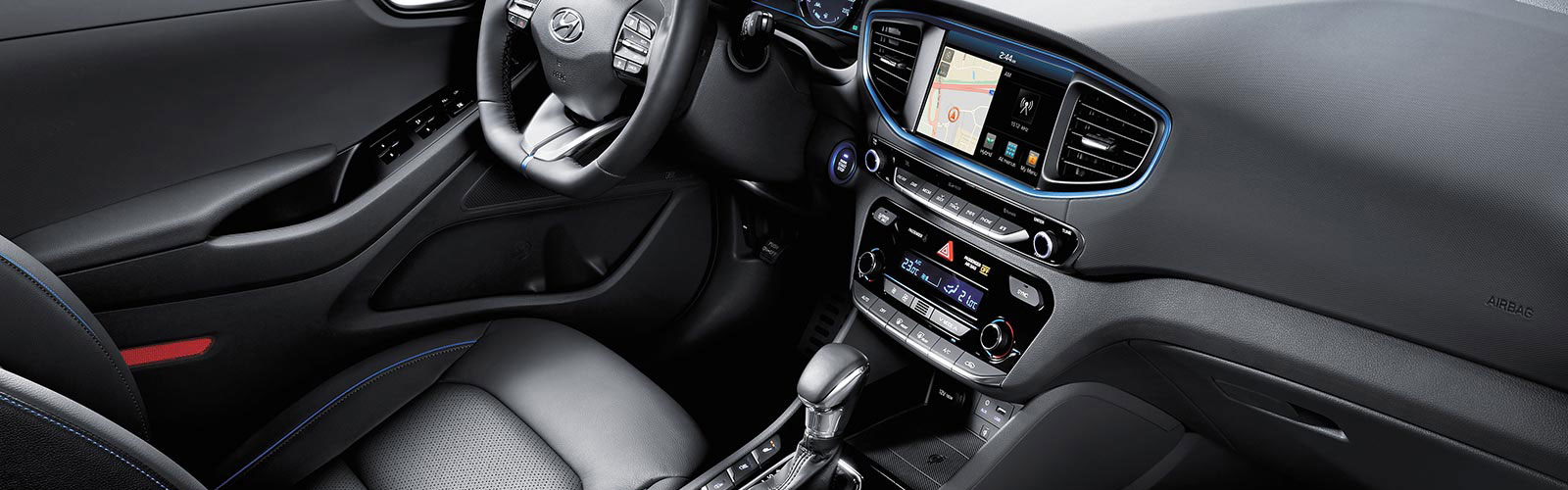 Interior del nuevo Hyundai Ioniq