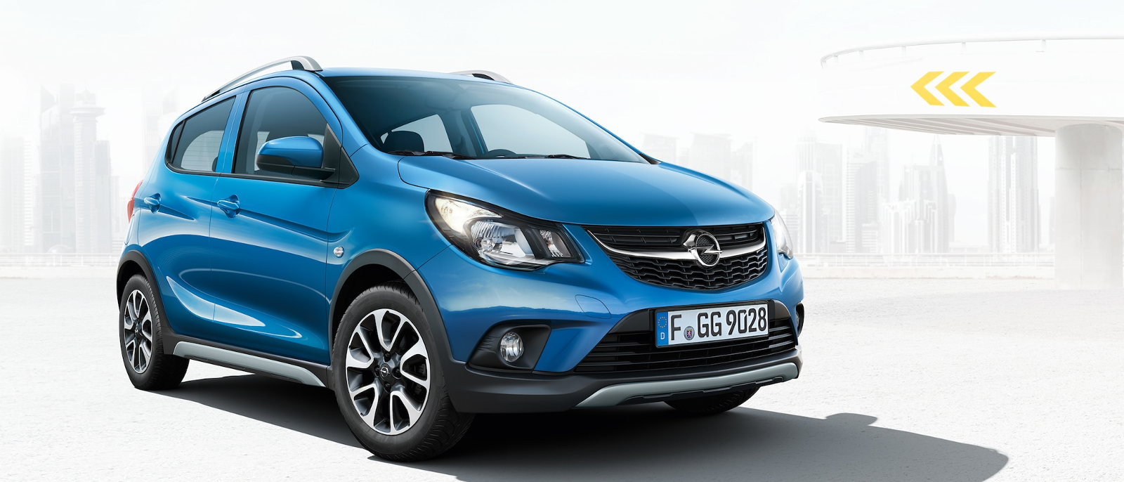 Opel Karl Rocks azul
