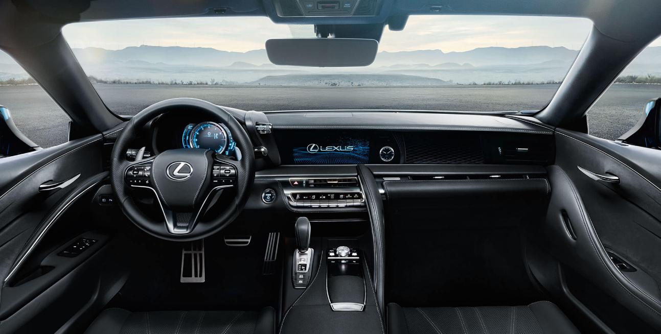 Interior lexus lc500h