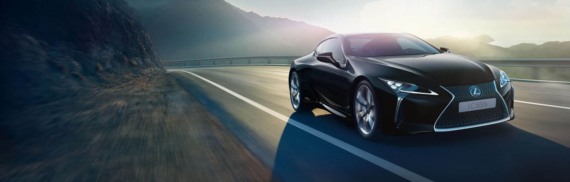 Lateral lexus lc500h