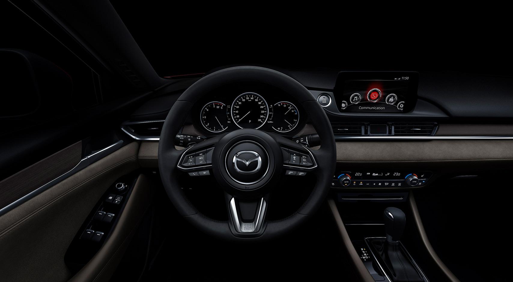 Interior mazda 6 sedan