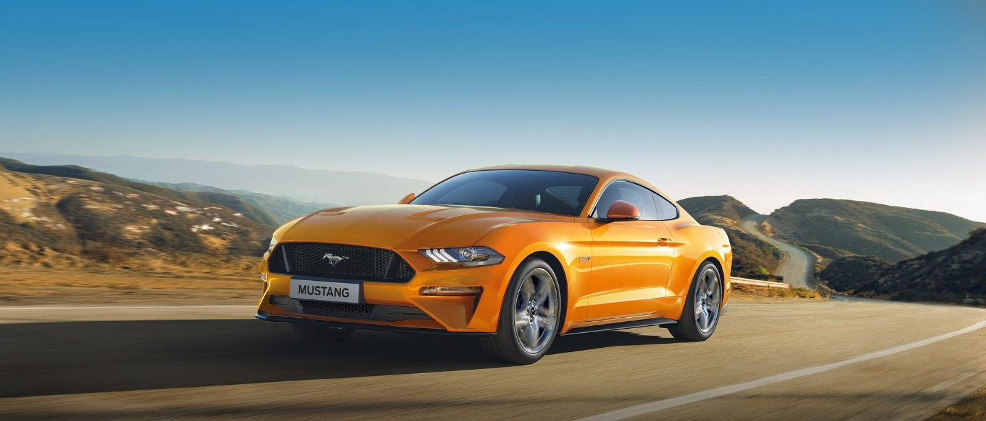 Lateral Ford Mustang