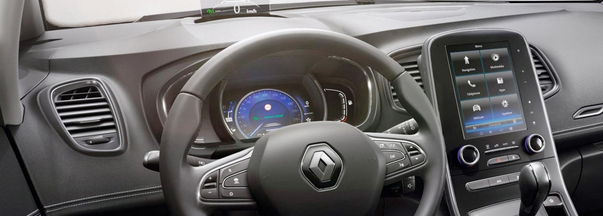 Consola Interior del Renault Grand Scénic