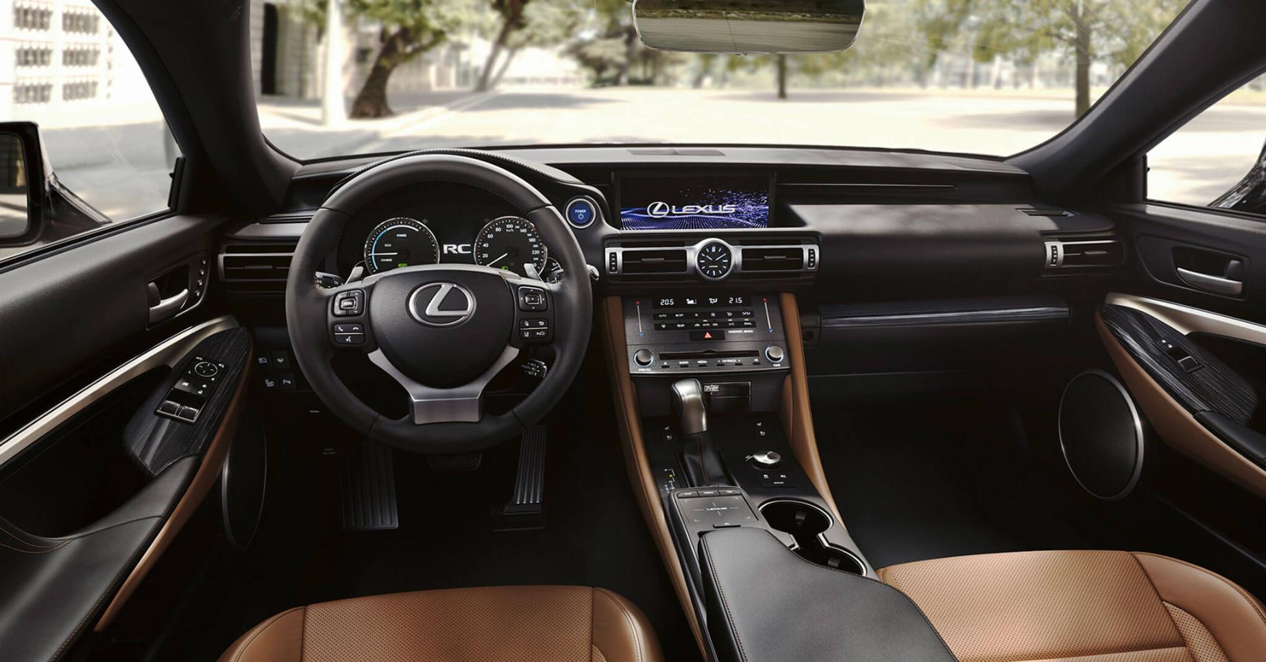 Interior Lexus rc 300