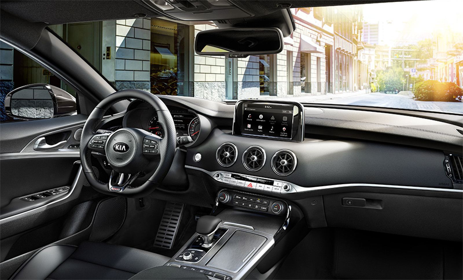 Interior kia Stinger