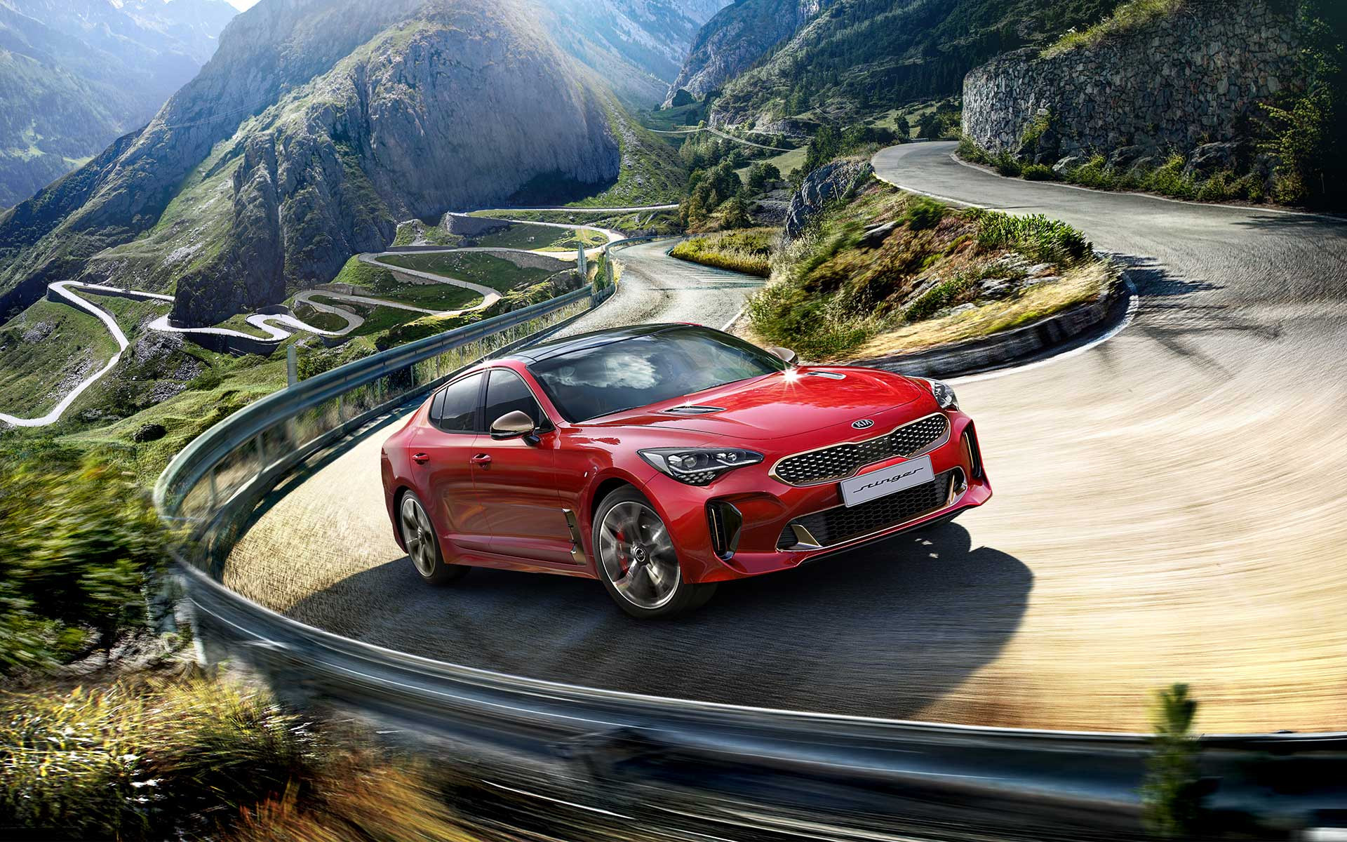 Lateral kia stinger