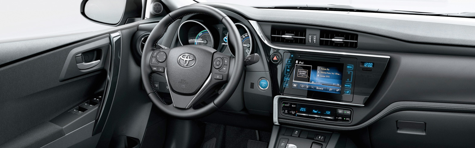 Interior del nuevo Toyota Auris Touring Sports