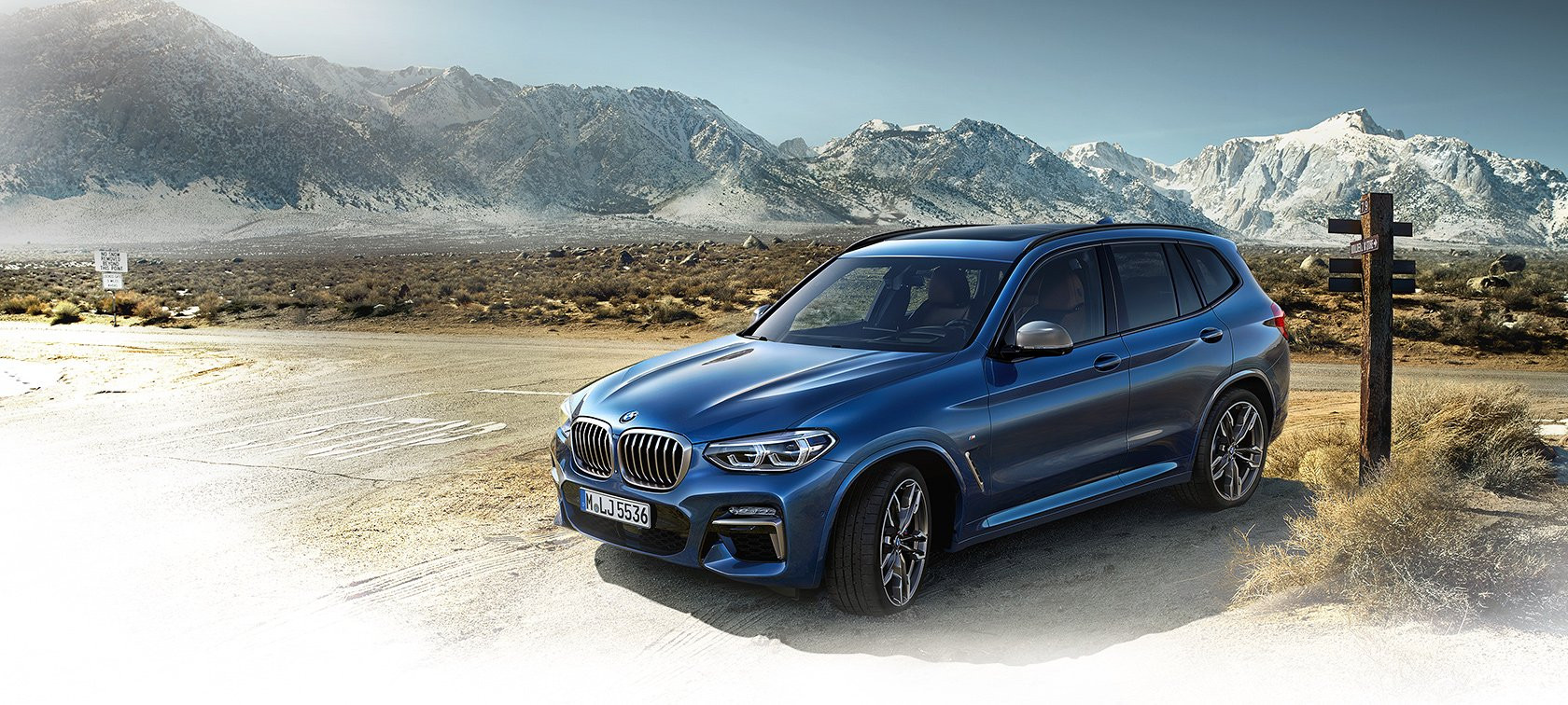 Lateral BMW X3
