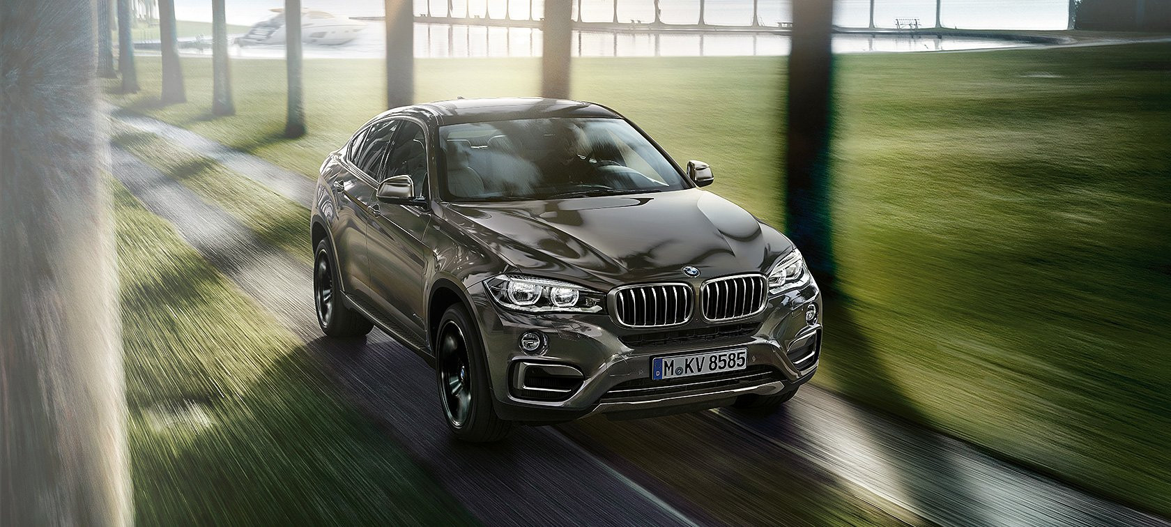 Lateral BMW X6