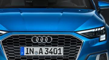 Audi A3 Sportback Azul