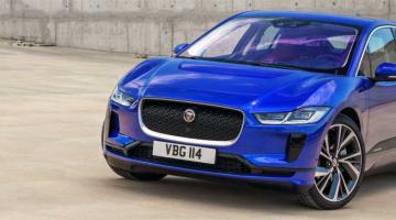 jaguar ipace azul