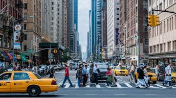 taxi en nueva york