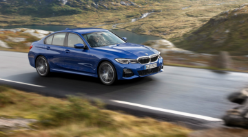 BMW Serie 3 azul