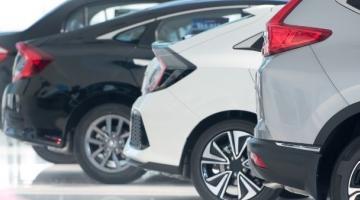 venta de coches exposición