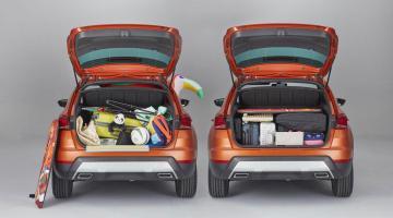 Diferencias al ordenar el maletero de SEAT Arona
