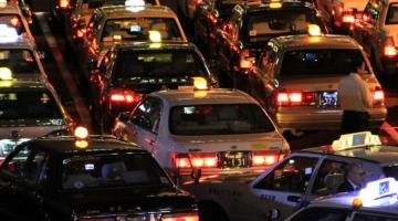 coches en la ciudad