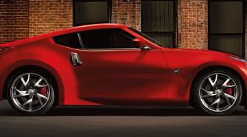 Nissan 370 rojo