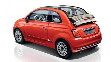 Fiat 500c naranja