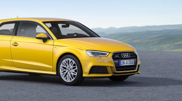 Audi a3 3 puertas amarillo