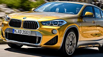 BMW X2 renting