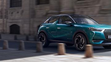 DS 3 Crossback azul