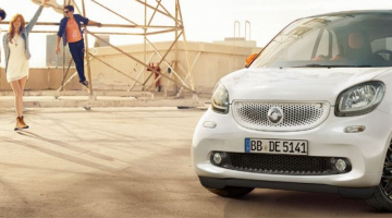 Smart fortwo blanco