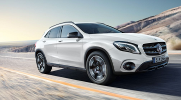 Mercedes GLA blanco