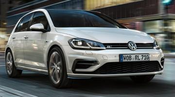 Volkswagen golf blanco