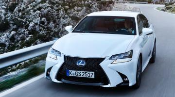 Lexus gs blanco